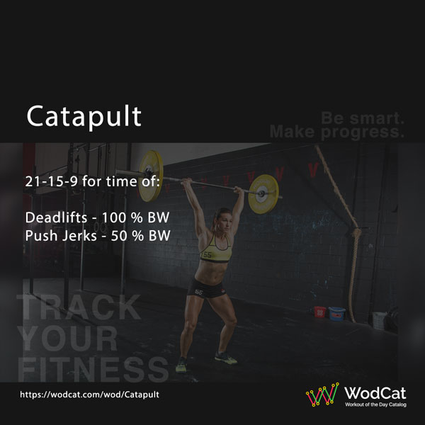 CROSSFIT WOD Catapult
