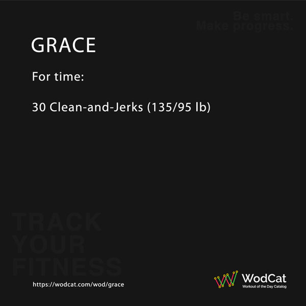 CROSSFIT WOD Grace
