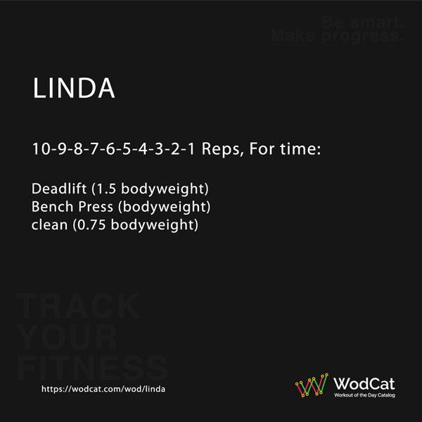 CROSSFIT WOD Linda