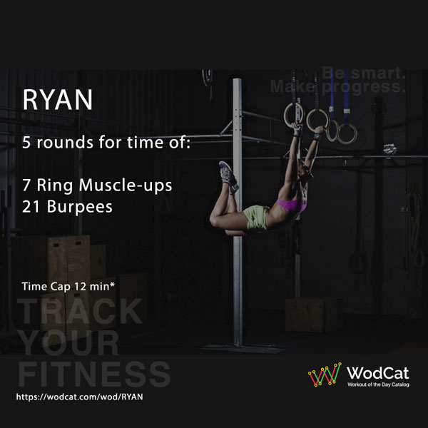 CROSSFIT WOD RYAN