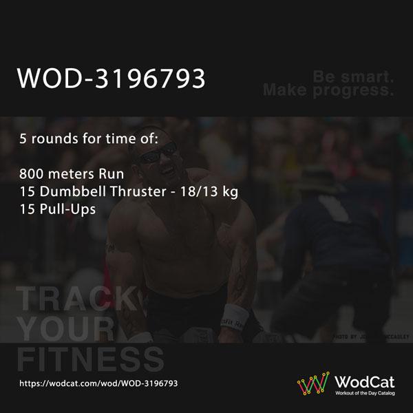 CROSSFIT WOD WOD-3196793