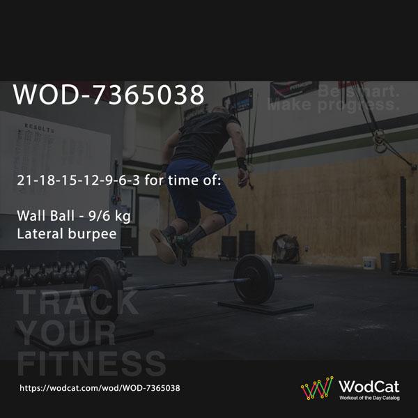 CROSSFIT WOD WOD-7365038