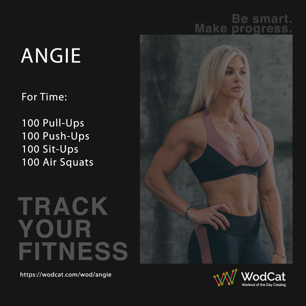 CROSSFIT WOD Angie