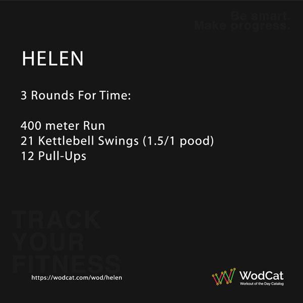 CROSSFIT WOD Helen