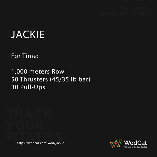 CROSSFIT WOD Jackie